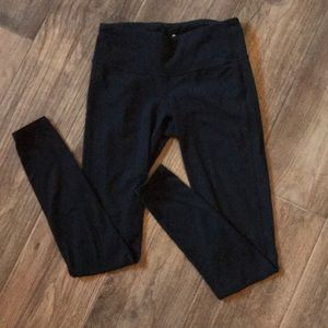 Athleta Black Elation Tight In Powervita